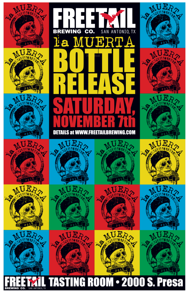 LaMuerta_BottleRelease_Poster