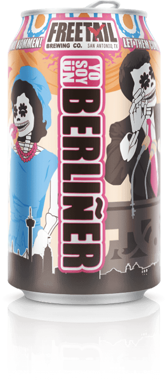 Yo Soy Un Berliner Freetail Beer