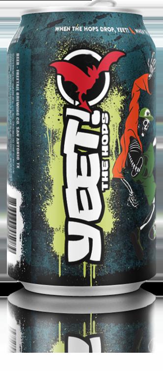 Yeet! The Hops Freetail Beer
