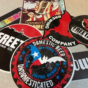 Pack of Freetail Stickers
