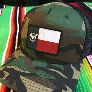 Forest Camo Hat with Texas Freetail Logo