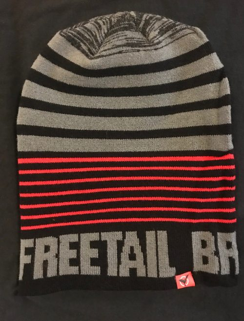 Slouch Beanie with Freetail Block Letters